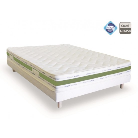 matelas sommier 160x200 pas cher ensemble sommier matelas. Black Bedroom Furniture Sets. Home Design Ideas