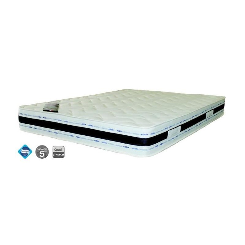 matelas literie luxe mousse 200x200 180x200 naturalex pas cher. Black Bedroom Furniture Sets. Home Design Ideas