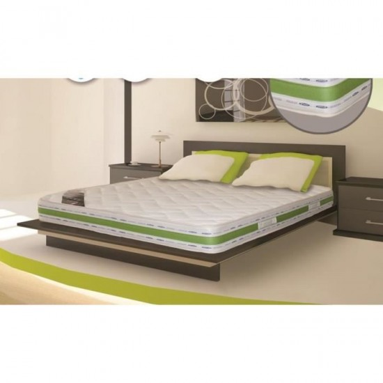 Matelas Latex confort 180x200x22 cm 2 personnes grand confort