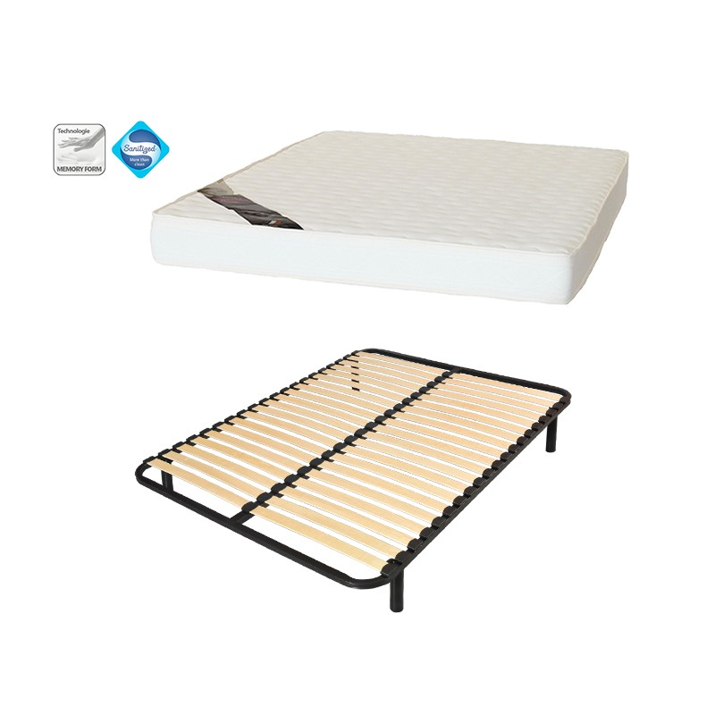 matelas sommier 140x190 maison design. Black Bedroom Furniture Sets. Home Design Ideas