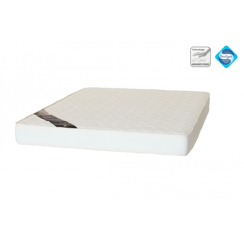 matelas 140x190 mousse m moire de forme essentiel 15 cm france matelas. Black Bedroom Furniture Sets. Home Design Ideas
