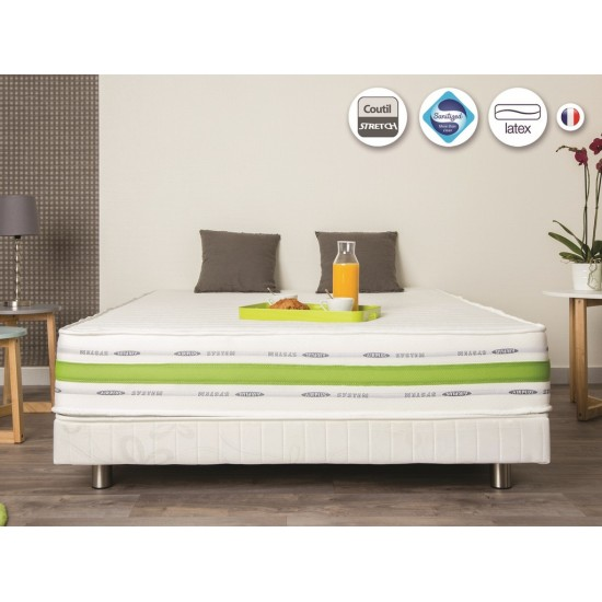 Matelas 160x200. Matelas en Latex Grand Confort 160x200 x22 cm