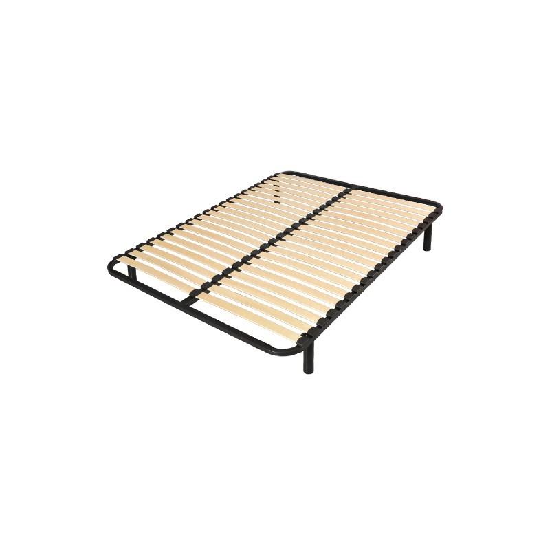 lit 2 personnes 140x190 sommier matelas 4 pieds france matelas. Black Bedroom Furniture Sets. Home Design Ideas