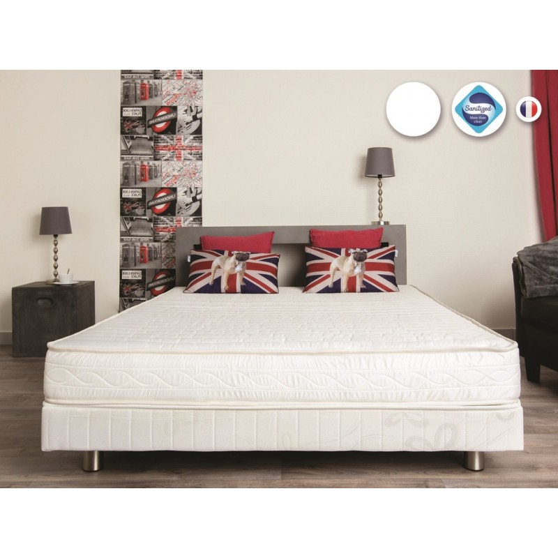 matelas 2 personnes 140 x 190 cm 15 cm d 39 paisseur 30kg m france matelas. Black Bedroom Furniture Sets. Home Design Ideas